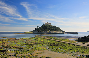 St Michael's Mount Near Trelew Farm